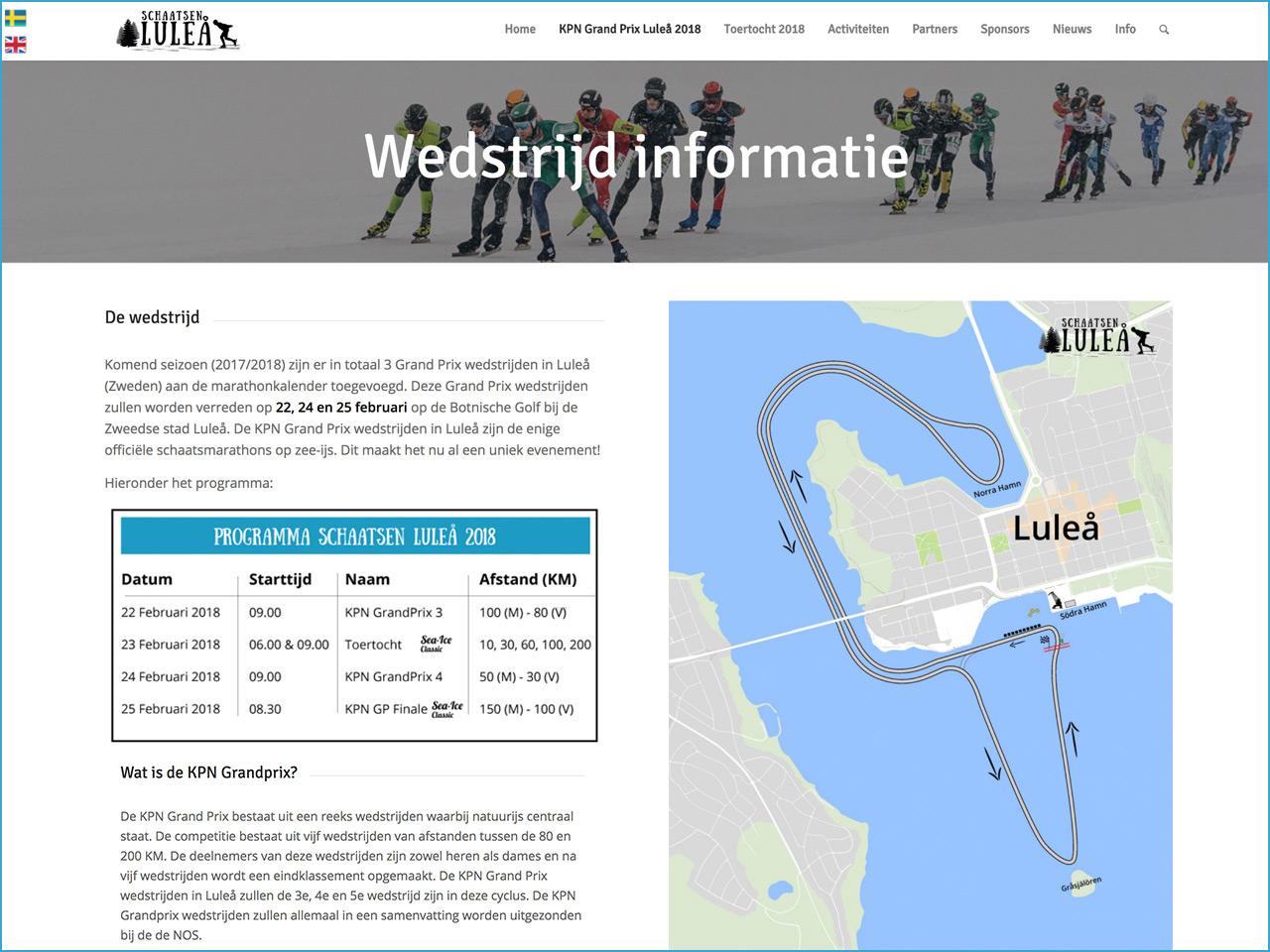 wedstrijd-pagina-schaatsen-lulea-webdesign