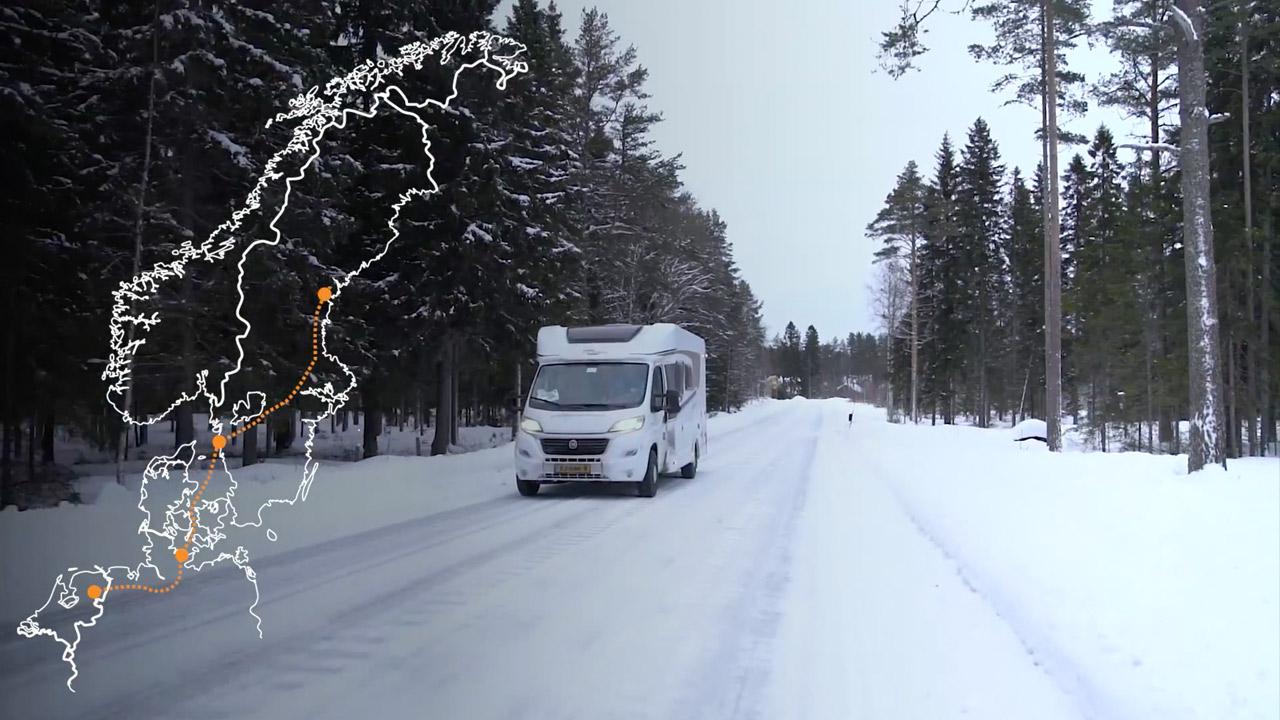 FIKA Tijd #1 - 'The roadtrip to Luleå' - Schaatsen Luleå 2018
